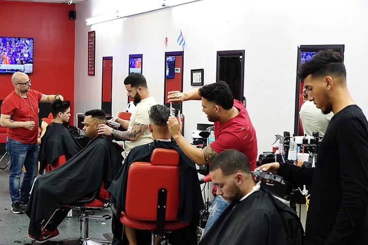 tempat kursus barbershop