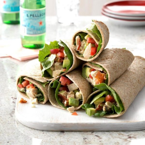 Kursus Membuat Wrap Salad